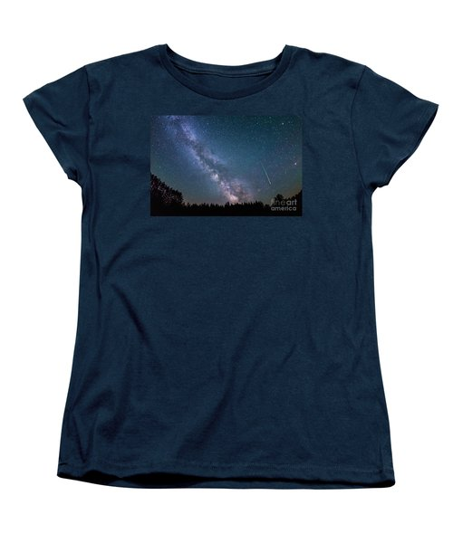 Meteor Milky Way  Women's T-Shirt (Standard Cut)