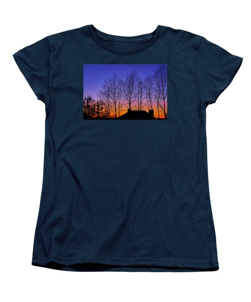 Miami Sky Women's T-Shirt (Standard Cut) by Tgchan