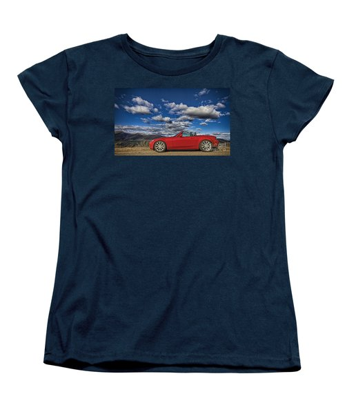 Miata Women's T-Shirt (Standard Cut) by Jason Abando