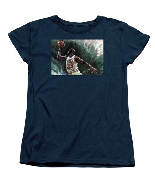 Michael Jordan Women's T-Shirt (Standard Cut)