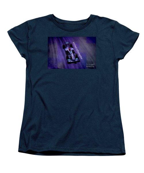 Michael Schumacher Women's T-Shirt (Standard Cut) by Marvin Spates
