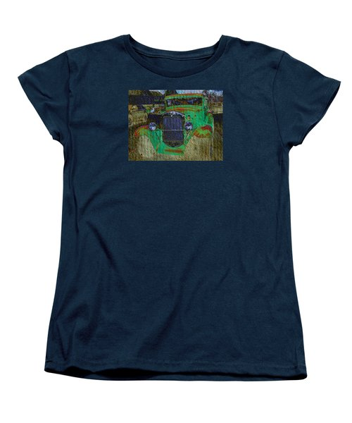 Women's T-Shirt (Standard Cut) featuring the photograph Michigan Coupe by MJ Olsen