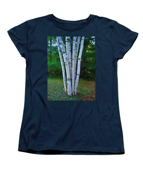 Micro-grove Women's T-Shirt (Standard Cut) by Daniel Thompson
