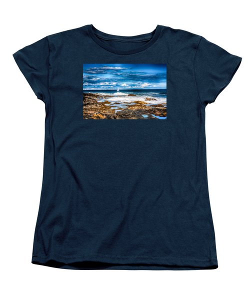 Midday Sail Women's T-Shirt (Standard Cut) by Fred Larson