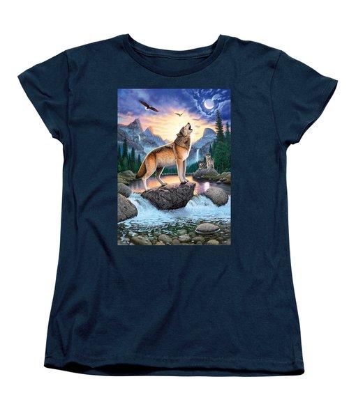 Midnight Call Women's T-Shirt (Standard Cut) by Chris Heitt