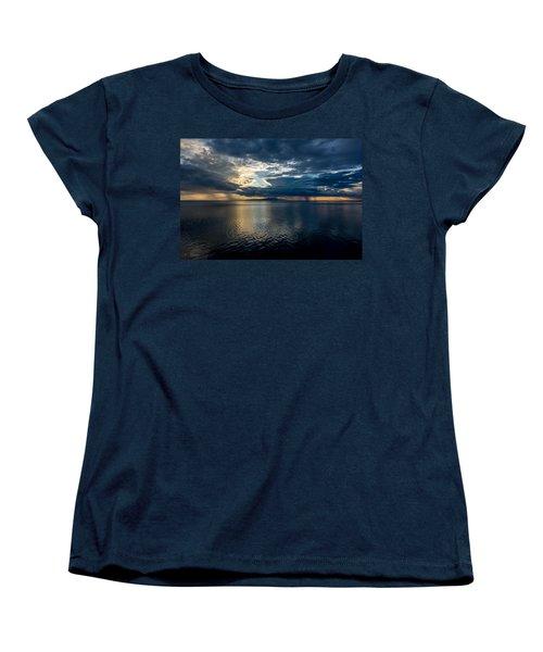 Midnight Majesty Women's T-Shirt (Standard Cut) by Andrew Matwijec