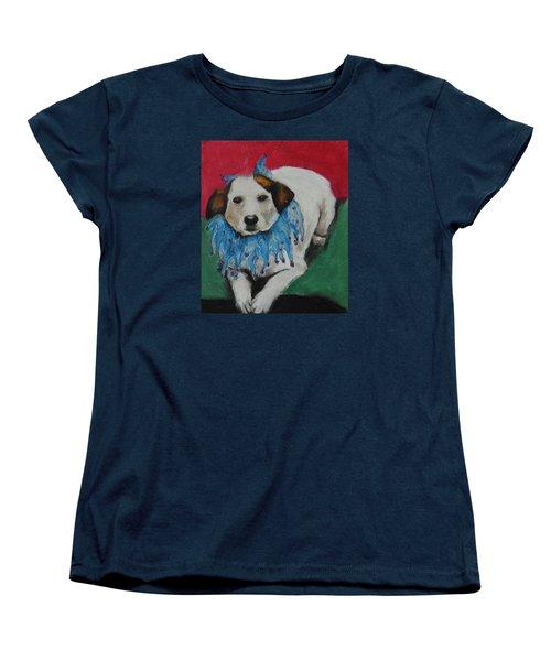 Mikey Women's T-Shirt (Standard Cut) by Jeanne Fischer