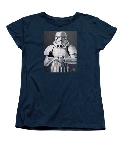 Milk And Cookies Women's T-Shirt (Standard Cut) by Tom Carlton