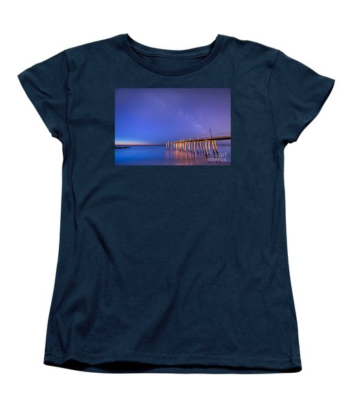 Milky Way Sunrise Women's T-Shirt (Standard Cut)