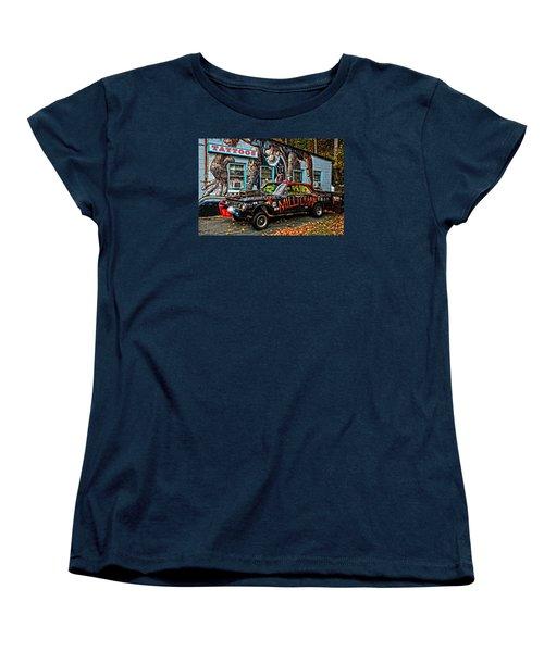 Milltown's Edsel Comet Women's T-Shirt (Standard Cut) by Mike Martin