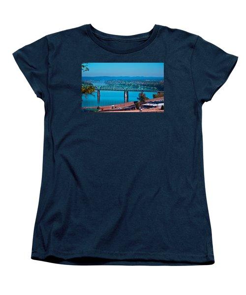 Miniature Bridge Women's T-Shirt (Standard Cut) by Jonny D