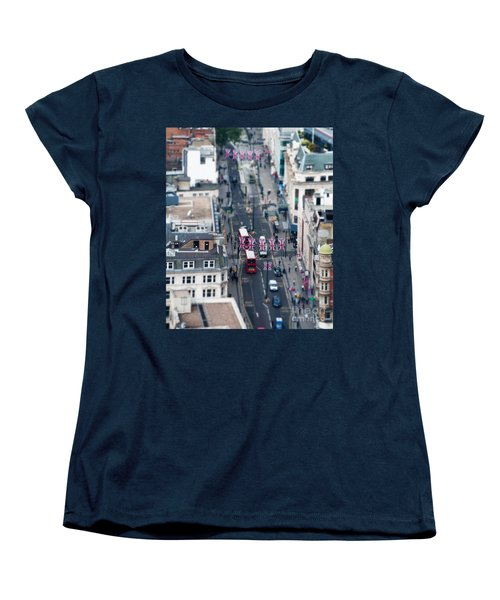 Miniature Oxford Street Women's T-Shirt (Standard Cut) by Matt Malloy