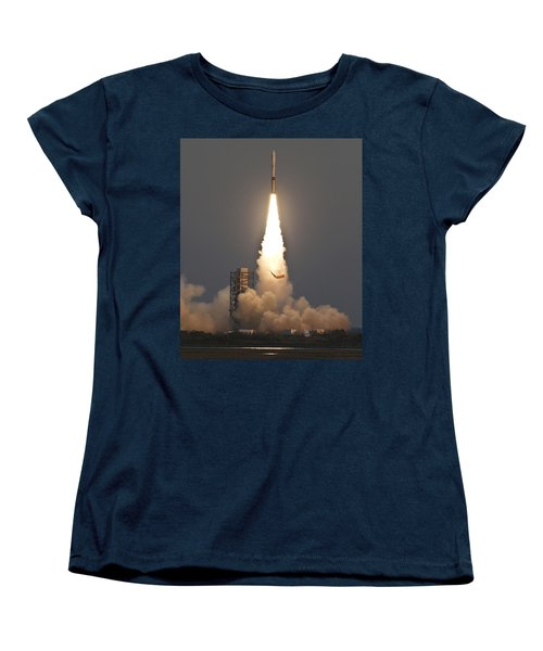 Minotaur I Launch Women's T-Shirt (Standard Cut) by Science Source