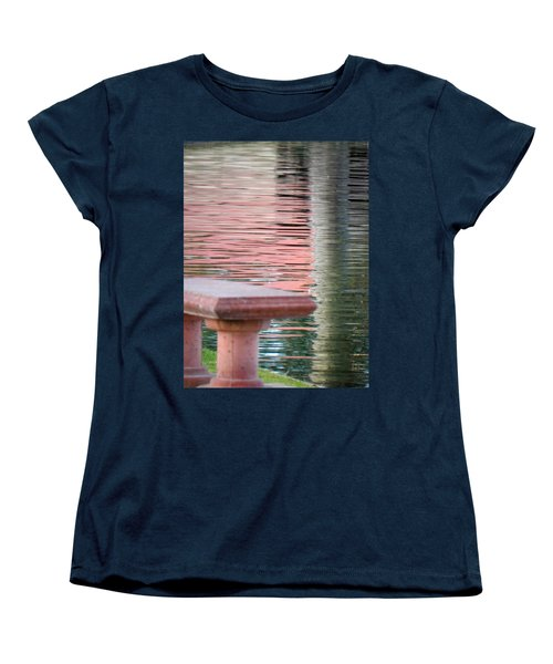 Women's T-Shirt (Standard Cut) featuring the photograph Mirror To The Soul by Deb Halloran