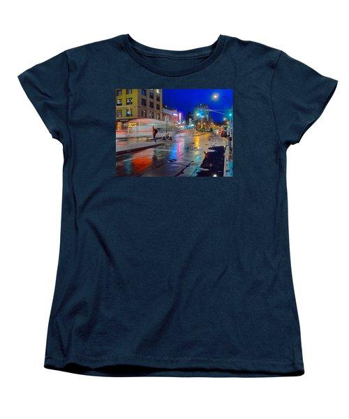 Missed The Bus Women's T-Shirt (Standard Cut) by Jeffrey Friedkin