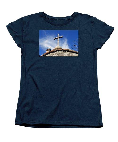Mission Cross Women's T-Shirt (Standard Cut) by Shoal Hollingsworth