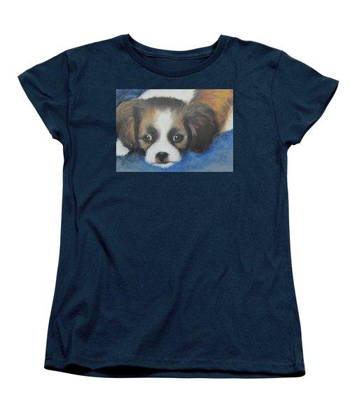 Mitzy Women's T-Shirt (Standard Cut) by Jeanne Fischer