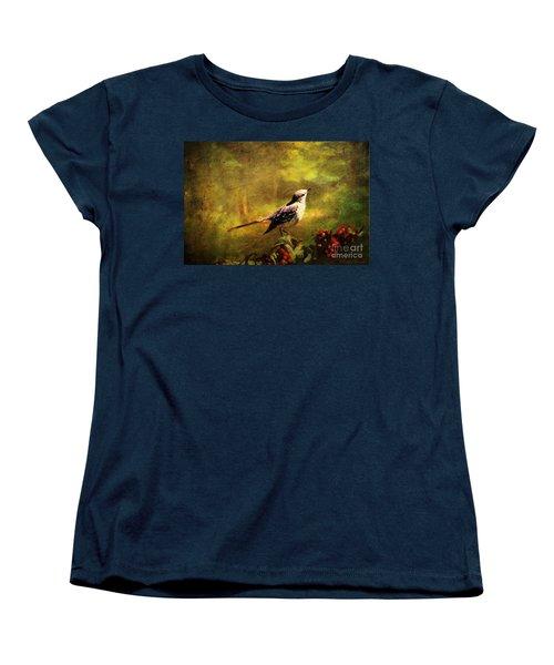 Mockingbird Have You Heard... Women's T-Shirt (Standard Cut) by Lianne Schneider