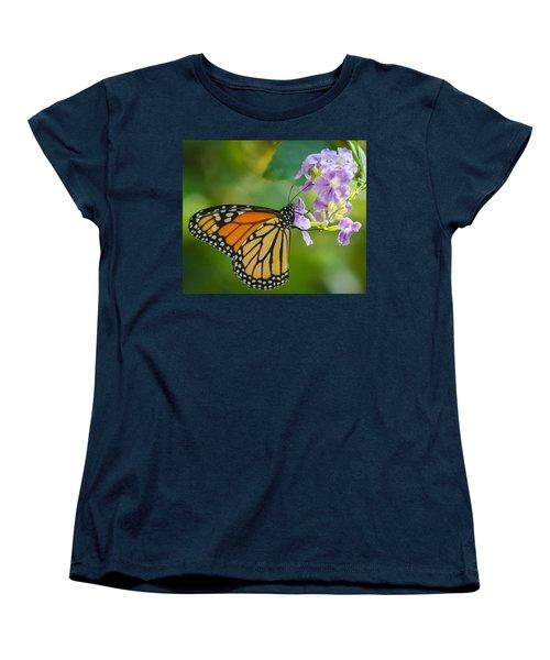 Monarch Butterfly Women's T-Shirt (Standard Cut) by Jane Luxton