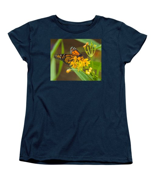 Women's T-Shirt (Standard Cut) featuring the photograph Monarch by Jane Luxton
