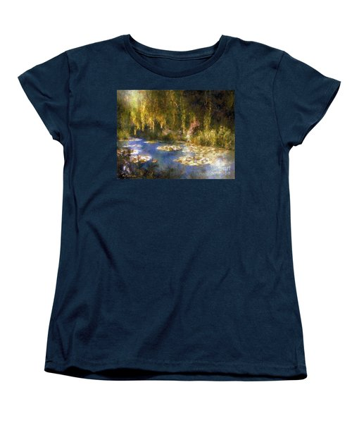 Monet After Midnight Women's T-Shirt (Standard Cut) by RC deWinter