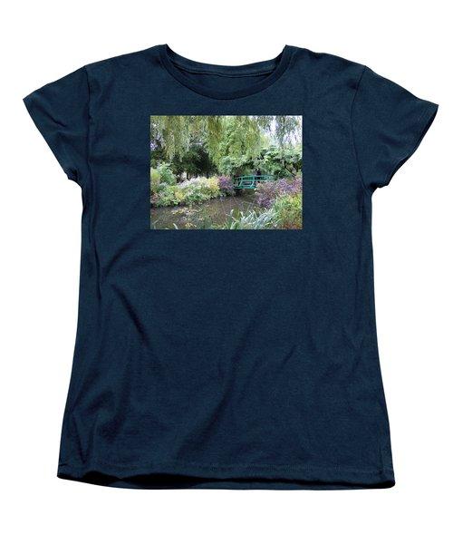 Monet's Japanese Bridge Women's T-Shirt (Standard Cut)