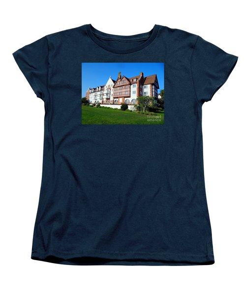 Montauk Manor Women's T-Shirt (Standard Cut) by Ed Weidman