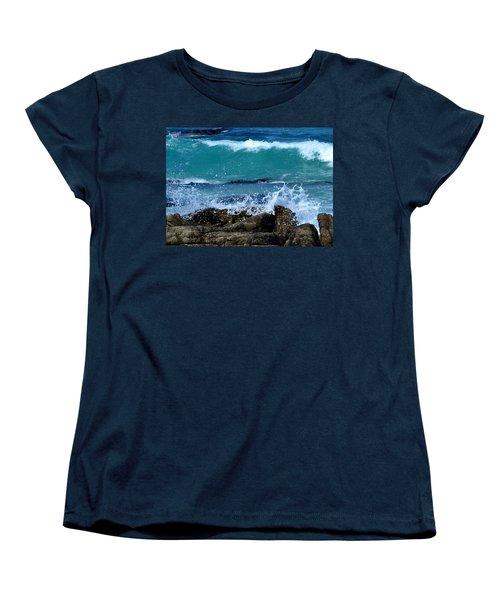 Women's T-Shirt (Standard Cut) featuring the photograph Monterey-3 by Dean Ferreira