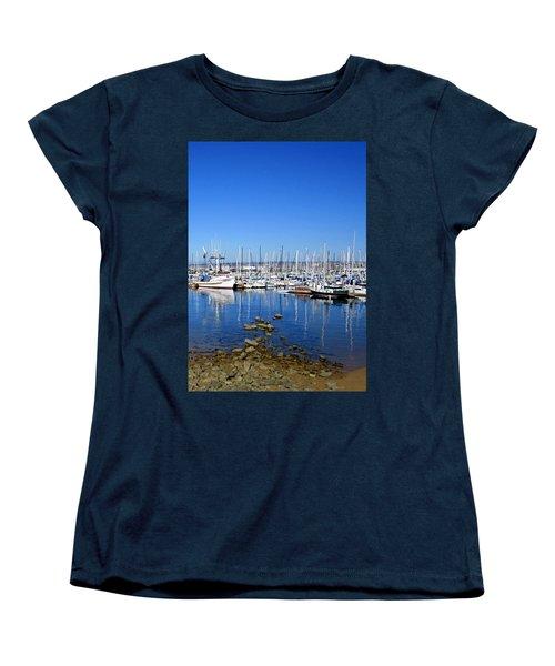 Women's T-Shirt (Standard Cut) featuring the photograph Monterey-7 by Dean Ferreira