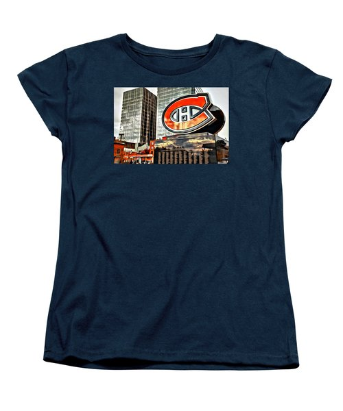 Montreal C Women's T-Shirt (Standard Cut) by Alice Gipson