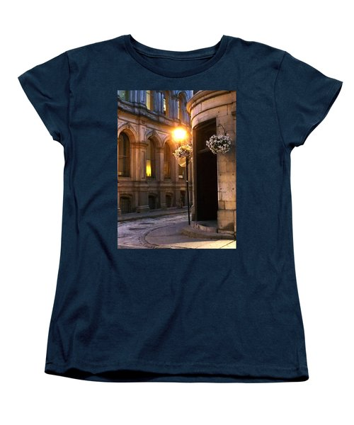 Montreal Night Women's T-Shirt (Standard Cut) by Steve Archbold