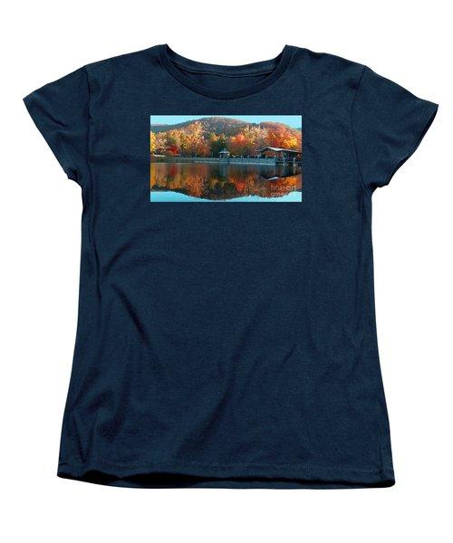 Montreat Autumn Women's T-Shirt (Standard Cut) by Lydia Holly