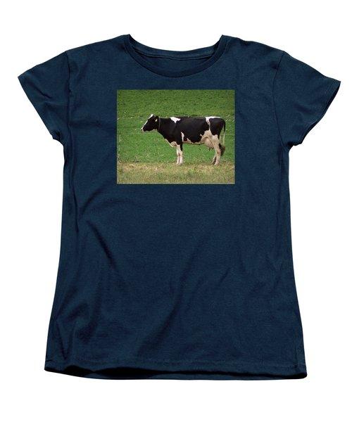 Women's T-Shirt (Standard Cut) featuring the photograph Moo by Joseph Skompski