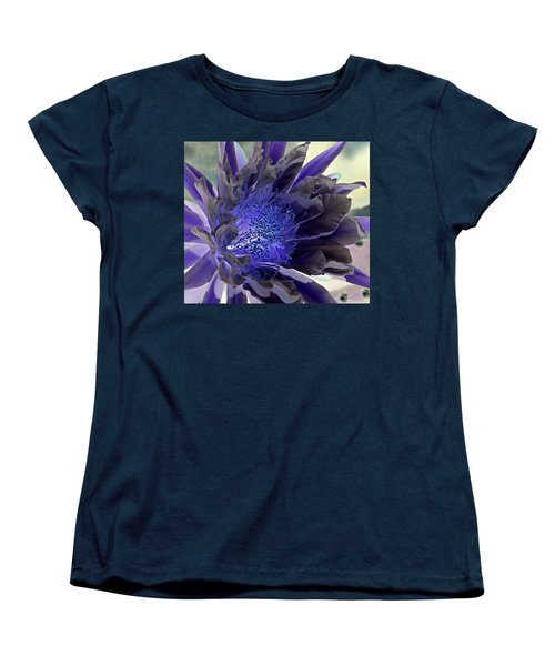 Women's T-Shirt (Standard Cut) featuring the photograph Moody Blues by Antonia Citrino