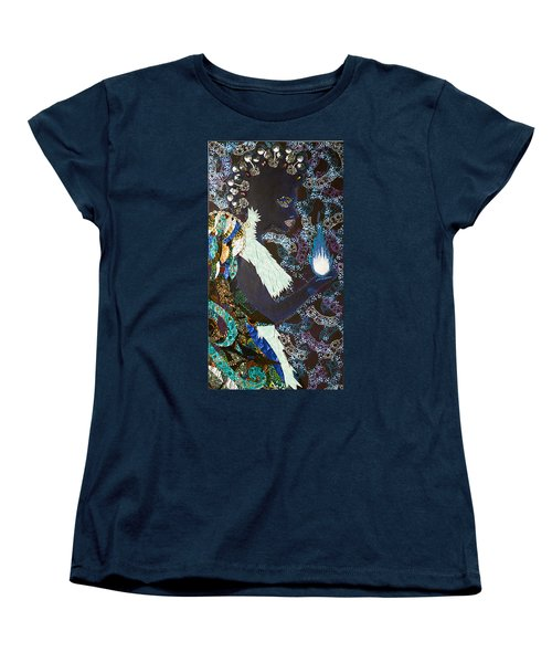 Moon Guardian - The Keeper Of The Universe Women's T-Shirt (Standard Cut) by Apanaki Temitayo M