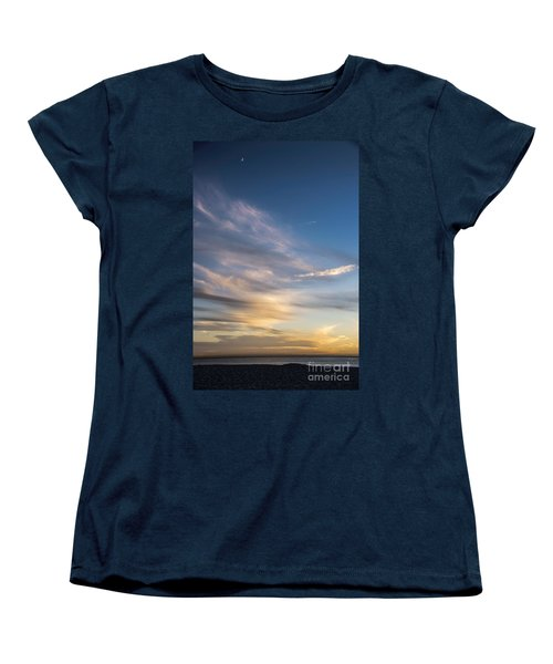 Moon Over Doheny Women's T-Shirt (Standard Cut) by Peggy Hughes