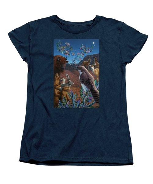 Moonlight Cantata Women's T-Shirt (Standard Cut) by James W Johnson