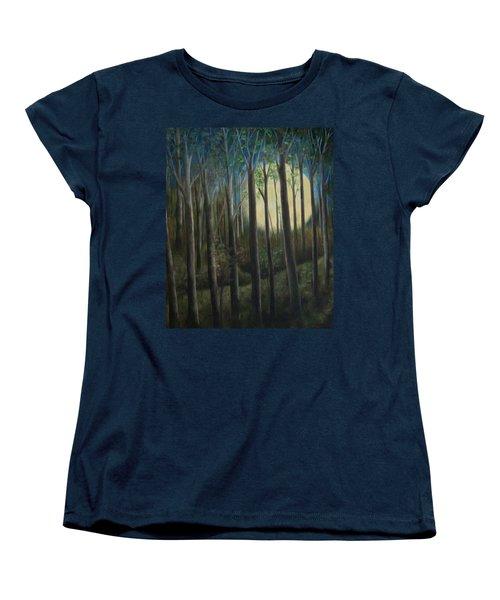 Moonrise Women's T-Shirt (Standard Cut) by FT McKinstry