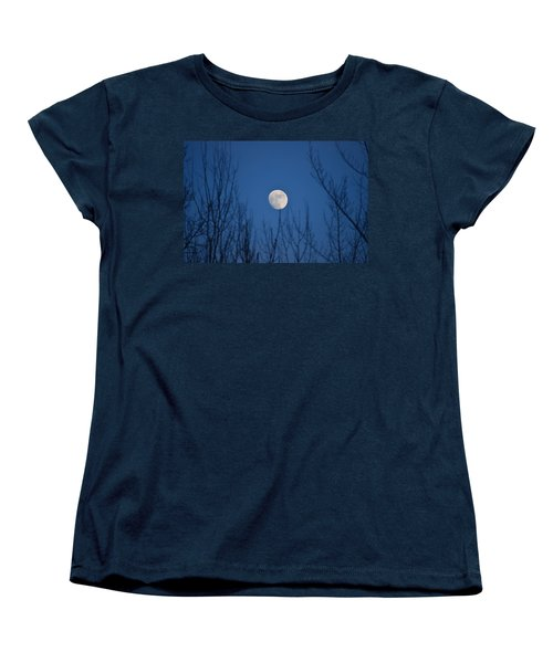 Moonrise Women's T-Shirt (Standard Cut) by James Petersen