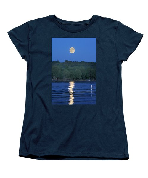 Reflections Of Luna Women's T-Shirt (Standard Cut) by Richard Engelbrecht