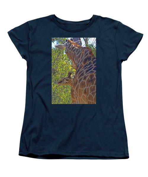 Women's T-Shirt (Standard Cut) featuring the photograph Mooom Im Bored by Gary Holmes