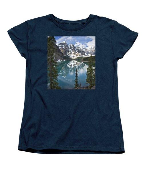 Moraine Lake Overlook Women's T-Shirt (Standard Cut)