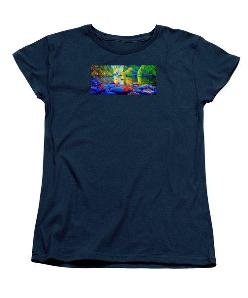 More Realistic Version Women's T-Shirt (Standard Cut) by Catherine Lott