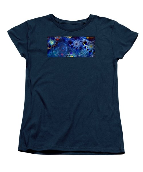 Women's T-Shirt (Standard Cut) featuring the digital art More Things In Heaven And Earth by Casey Kotas