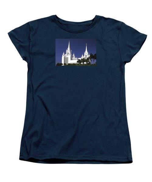 Mormon Temple Women's T-Shirt (Standard Cut) by Paul W Faust -  Impressions of Light