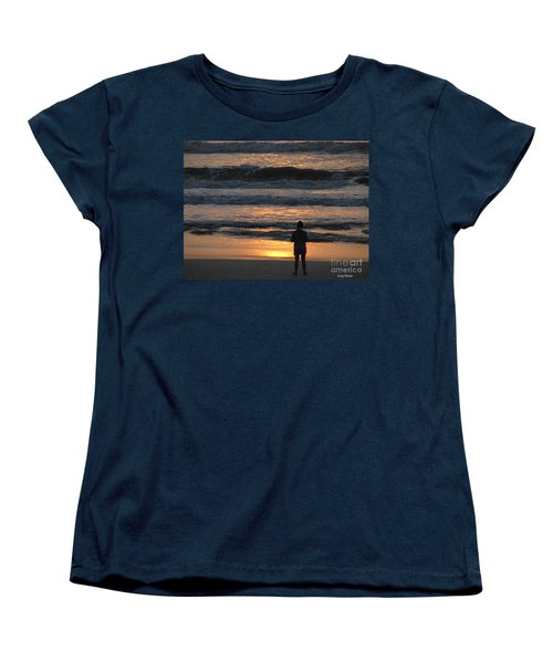 Women's T-Shirt (Standard Cut) featuring the photograph Morning Has Broken by Greg Patzer