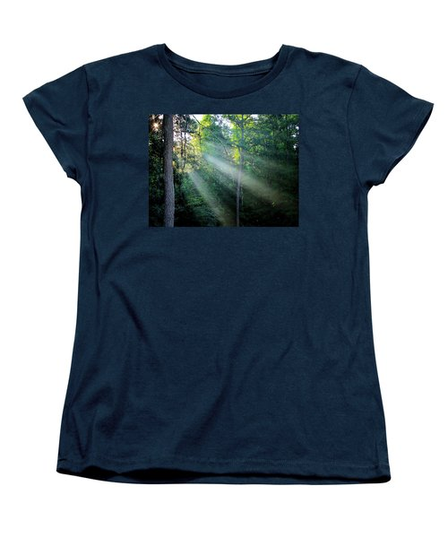 Women's T-Shirt (Standard Cut) featuring the photograph Morning Rays by Greg Simmons
