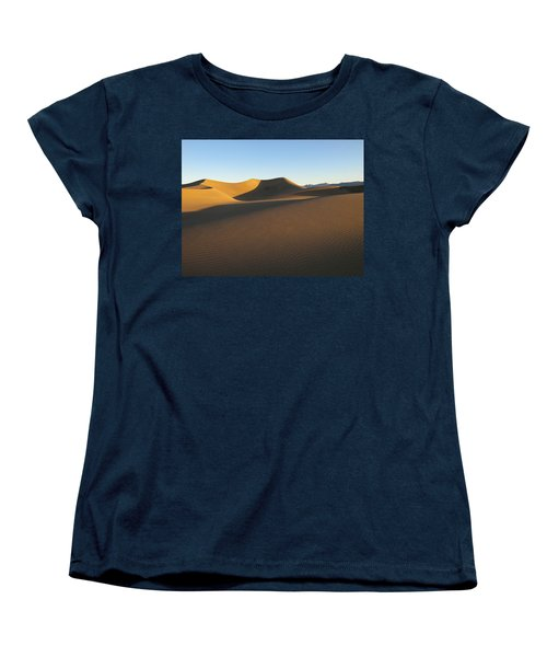 Women's T-Shirt (Standard Cut) featuring the photograph Morning Shadows by Joe Schofield