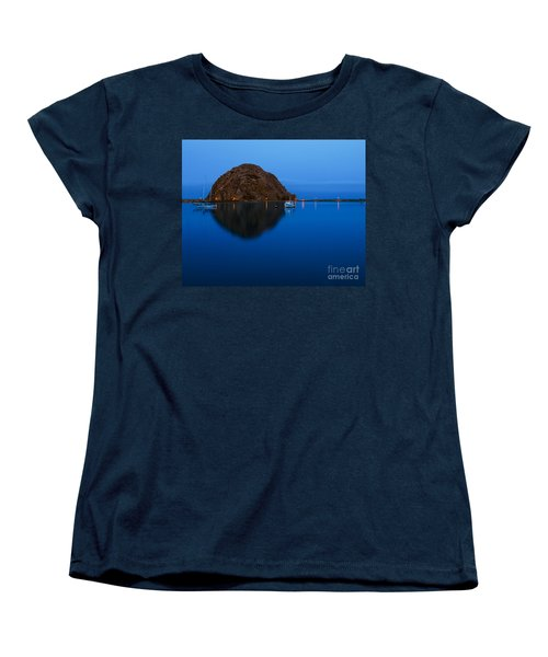 Morro Bay Calm Morning Women's T-Shirt (Standard Cut) by Terry Garvin