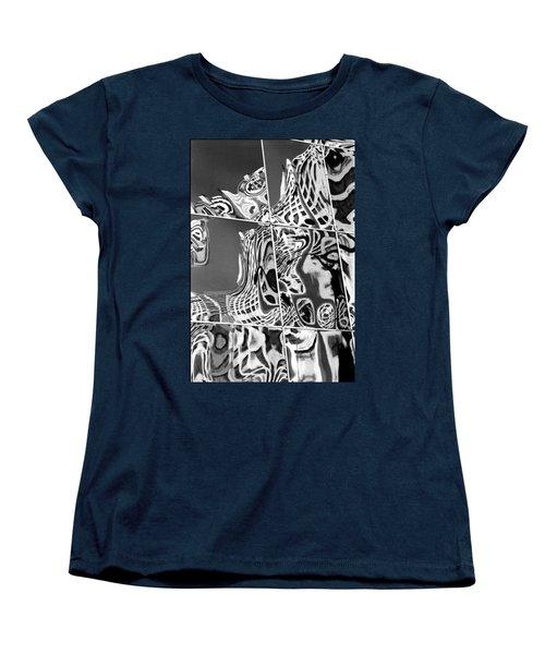 Mosaic Women's T-Shirt (Standard Cut) by Steven Huszar